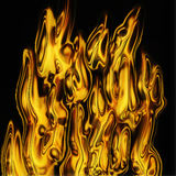 Abstract fire texture Royalty Free Stock Images