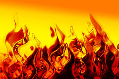 Abstract fire texture. As very nice background Royalty Free Stock Photos