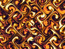 Abstract fire texture pattern. Computer generated abstract fire texture pattern Stock Photo