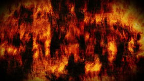 Abstract fire wall Royalty Free Stock Images