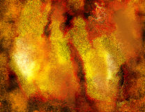 Abstract fired grunge Stock Photo
