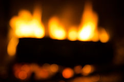 Abstract fireplace Royalty Free Stock Photos
