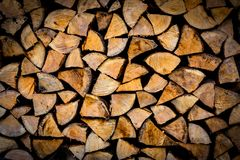 Abstract firewood texture Royalty Free Stock Images
