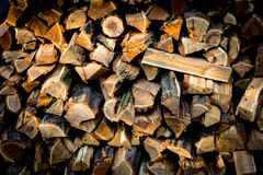 Abstract firewoods background Stock Images