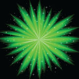 Abstract firework. The vector illustration contains the image of abstract firework Royalty Free Stock Photo
