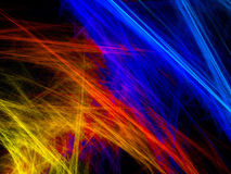Abstract firework background Stock Photo