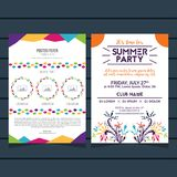 Abstract Firework And Colorful Polkadot Poster, Banner, Flyer Background Template Design. Abstract Firework Poster, Banner, Flyer Background Template Design for Stock Photography