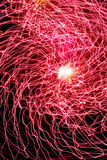 Abstract firework photo. Abstract photo of firework with circular motion Stock Photos