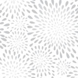 Abstract firework splash dot seamless pattern. Flower texture Stock Images