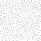 Abstract firework splash dot seamless pattern. Swirl floral peta Royalty Free Stock Photos
