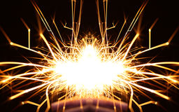 Abstract fireworks Royalty Free Stock Photos