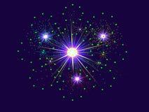 Free Abstract Fireworks Burst Royalty Free Stock Photos - 32015458