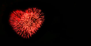 Free Abstract Fireworks Light Up In The Sky At Night Royalty Free Stock Images - 95066089