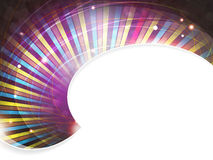 Abstract fireworks. Abstract striped background with place for text Stock Photography