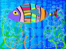Abstract Fish Royalty Free Stock Photo