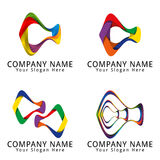 Abstract Fish Colorful Concept Logo Royalty Free Stock Photos