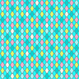 Abstract fish scales seamless pattern. Bright multicolor seamless background,fish scales imitation Stock Image