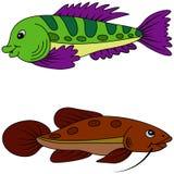 Abstract fish. Stock Photo