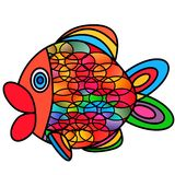 Abstract fish. Stock Images