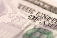 Abstract Five Dollar Bill Stock Images
