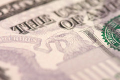 Abstract Five Dollar Bill Stock Photography