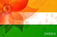 Abstract flag of India Royalty Free Stock Photography