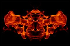 Abstract flame Stock Images