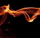 Abstract flame Royalty Free Stock Photos