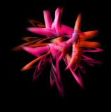 Abstract flame red Stock Photos