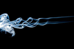Abstract flame smoke - smoke motion royalty free illustration
