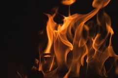 Abstract Flames stock photography