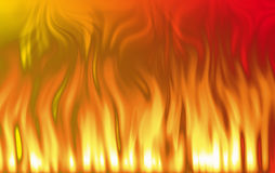 Abstract flames of fire background. Digitally produced stock illustration