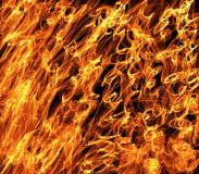 Abstract Flames of Fire Background Royalty Free Stock Photo