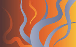 Abstract flames. Abstract image of flames background Stock Photo