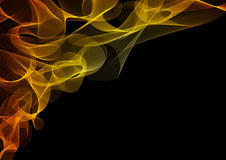 Abstract flames or smoke background Stock Images