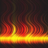 Abstract flaming background Royalty Free Stock Images