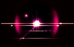 Abstract flare in black  background. It looks bright, shine  Royalty Free Stock Images