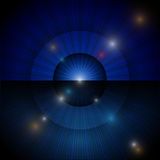 Abstract flare light technology background Royalty Free Stock Images