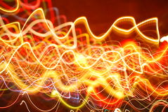 Abstract Flashes of light wallpaper Royalty Free Stock Images