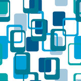 Abstract flat geometric pattern blue.  Seamless vector illustration. Abstract flat geometric pattern blue. Repeating pattern for printing on men`s and women`s Royalty Free Stock Photography