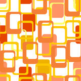 Abstract flat geometric pattern orange.  Seamless vector illustration. Abstract flat geometric pattern orange. Repeating pattern for printing on men`s and women` Stock Images