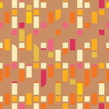 Abstract flat seamless pattern Royalty Free Stock Photography