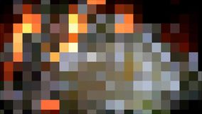 Abstract flickering square  background stock footage