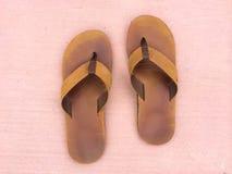 Abstract Flip Flop Sandals Stock Afbeeldingen