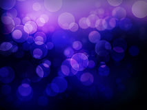 Abstract Floating Bokeh Background Stock Photo
