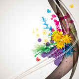Abstract flora background Royalty Free Stock Images