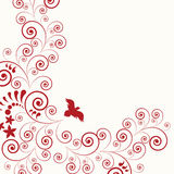 Abstract flora background stock image