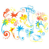 Abstract flora background vector Royalty Free Stock Photography