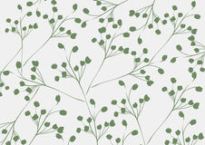 Abstract flora pattern design background | decoration retro style | nature branch textured Royalty Free Stock Photo