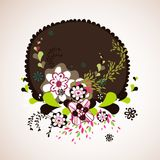 Abstract flora wallpaper Royalty Free Stock Photography